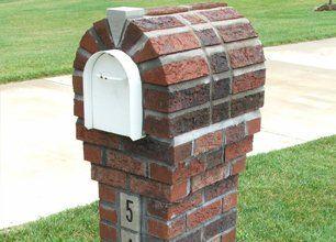 Custom Brick Mailboxes Mailbox Bases Omaha Ne