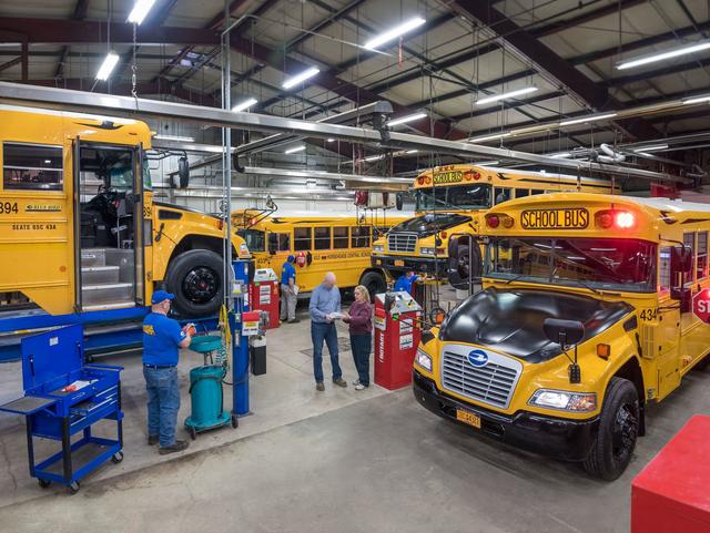 Monark Student Transportation Corp School Bus Company Pittsburgh Pa