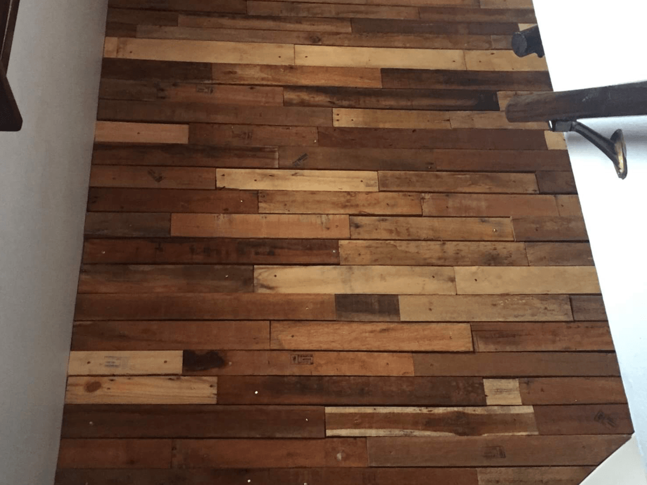 Pallet Wall Covering | Pallet Wood Walls | Rockford, IL
