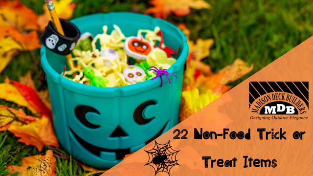 22 Non Food Trick Or Treat Items