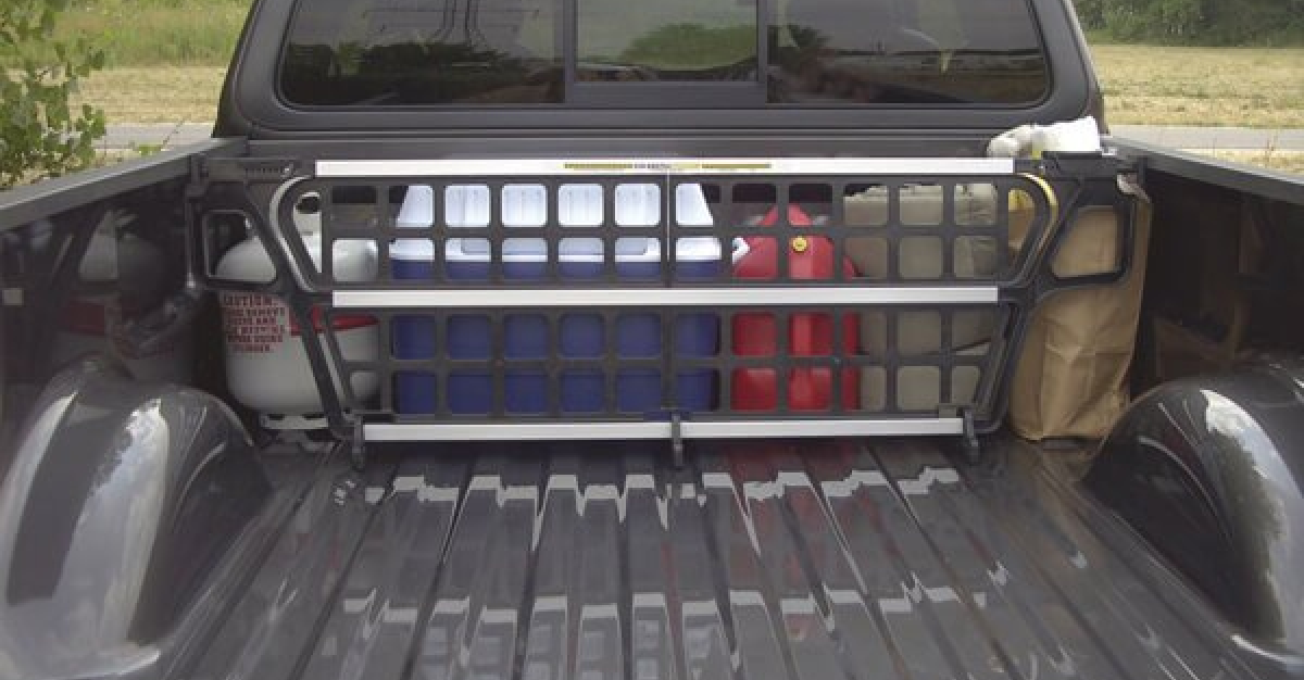 Loading Zone Truck Bed Dividers Simply Lift Lock Load